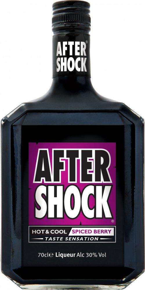 After Shock Hot & Cool Spiced Berry Liqueur (70cl)